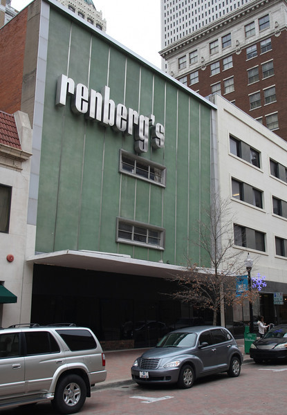 Renberg's department store building in downtown Tulsa.