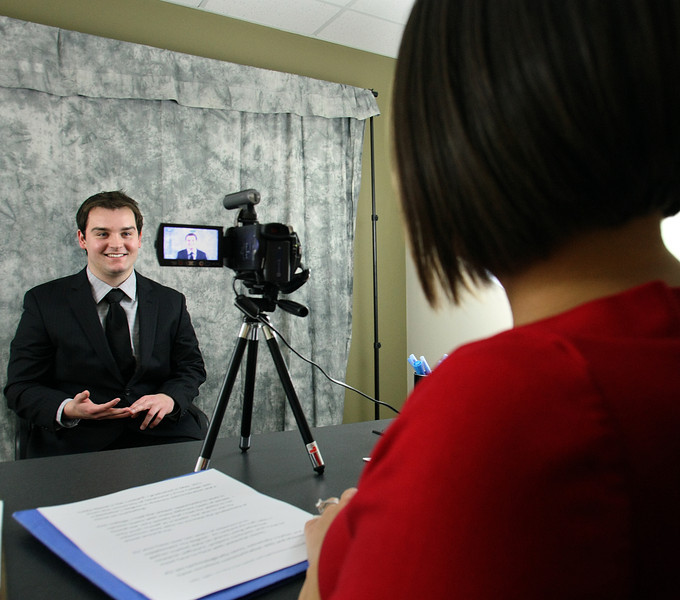 Zac Lockard sits for a 2 minute video resume produced by Part Time Pros Senior Recruiter Lisa Johnson.