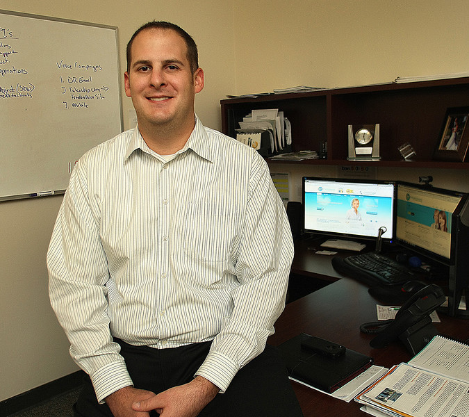 Eric Kehmeir, Managing Partner of Intergrated Business Technologies,  at Broken Arrow office.
