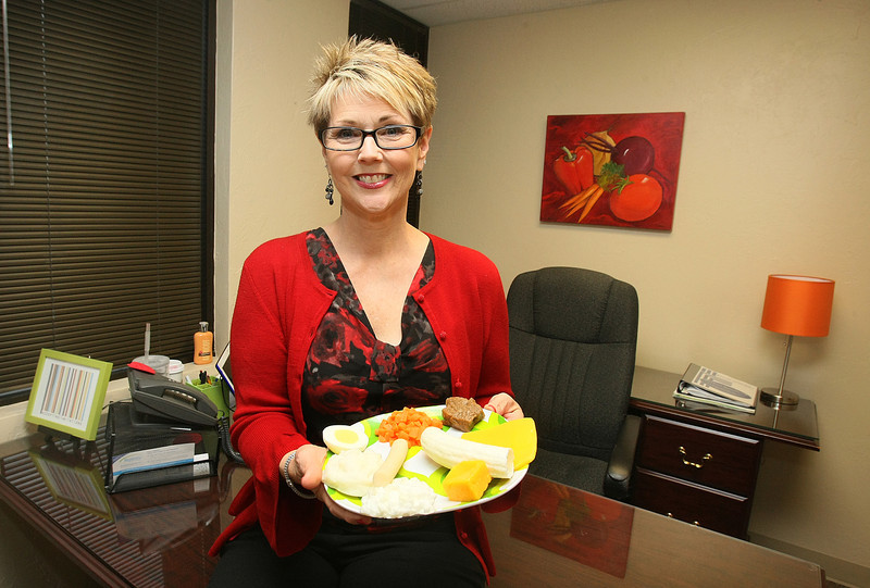 Karen Meyers, nutrition consultant. PHOTO BY MAIKE SABOLICH