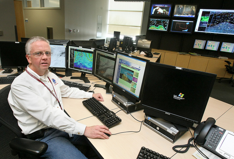 National Weather Service Warning Coordinator Rick Smith. PHOTO ILLUSTRATION BY GARY BERGER