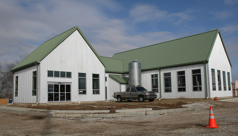 Oklahoma's first organic garden Center, Grogg's Green Barn, is under construction at 10105 E. 61st St in South Tulsa.