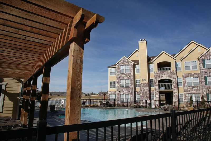 The Park at Mission Hills apartment complex is the second Case and Associates apartments to open in the Broken Arrow corridor in the last three years.