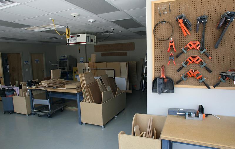 The Fab Lab in Tulsa.