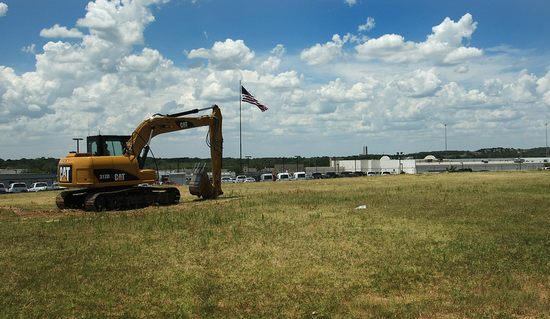 Jim Norton Toyota is going to build a 30,765-square-foot car detail shop on this now empty lot behind their South Tulsa dealership.