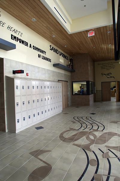 The Charles Page High School Performing Arts Building in Sapulpa.