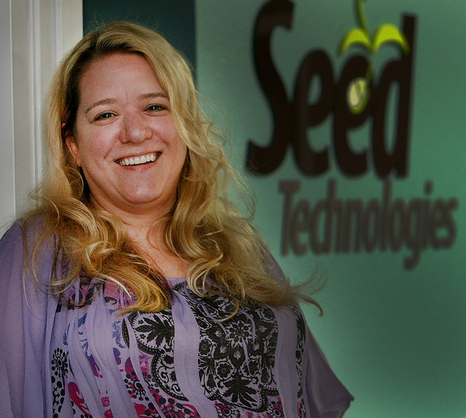 Jennifer Jones, Owner of Seed Technologies in Tulsa.