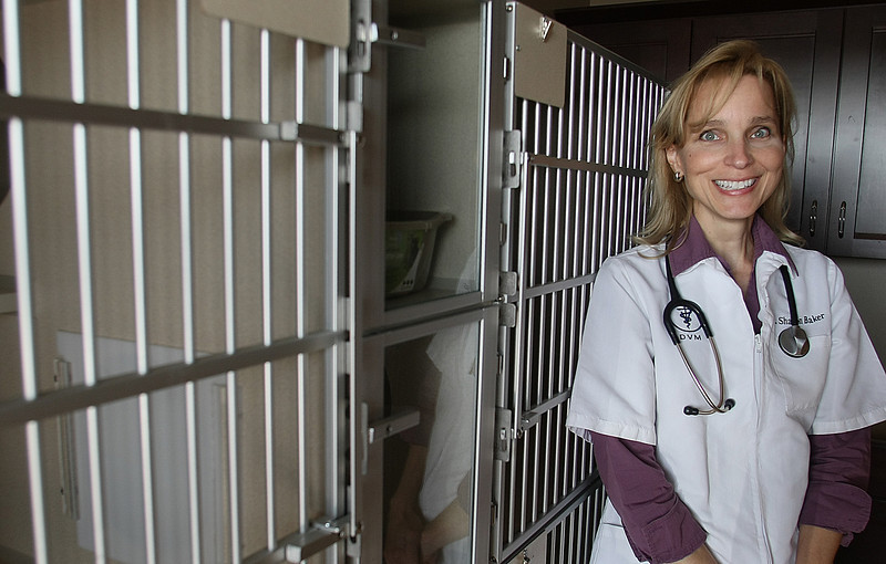 Veterinarian Dr. Sharon Baker plans to open her Cat Clinic currently under construction in Owasso in the next few weeks.