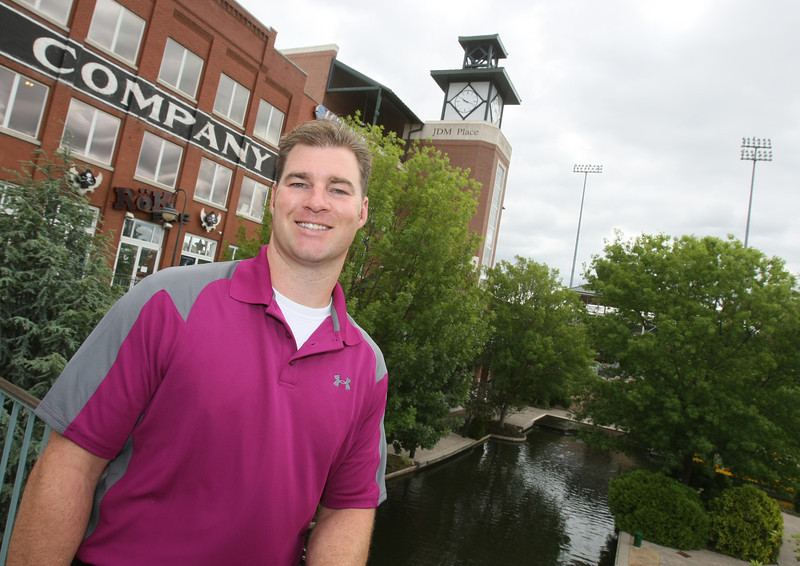 Ken Novotny with Oklahoma City-based CSI on the Bricktown canal. PHOTO BY MAIKE SABOLICH