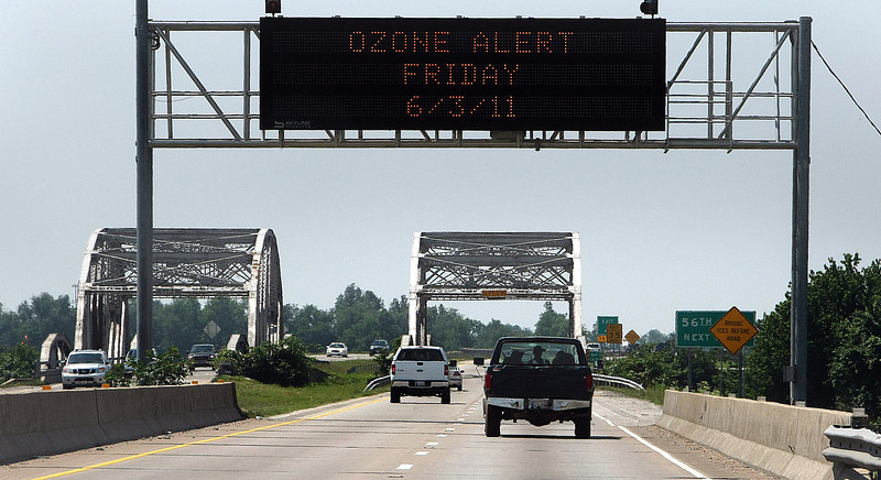 The summer heat is on in Oklahoma prompting Tulsa's first Ozone alert for the summer.