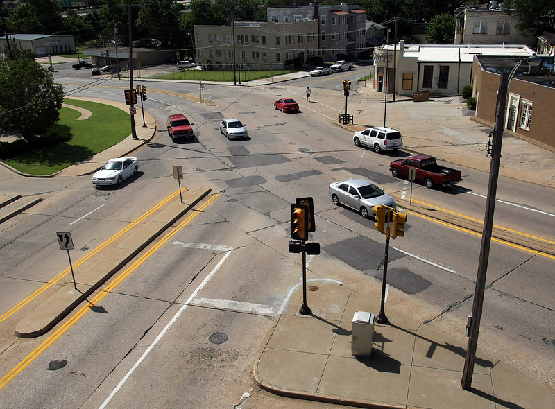 Tulsa is building a modern roundabout in the next few months at 10th Street and Elgin Avenue, joining a trend that is spreading across the country.