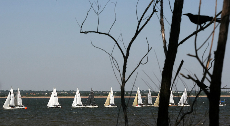 National Championship Santana 20 Regatta at Lake Hefner comes to an end Thursday. PHOTO  BY MAIKE SABOLICH