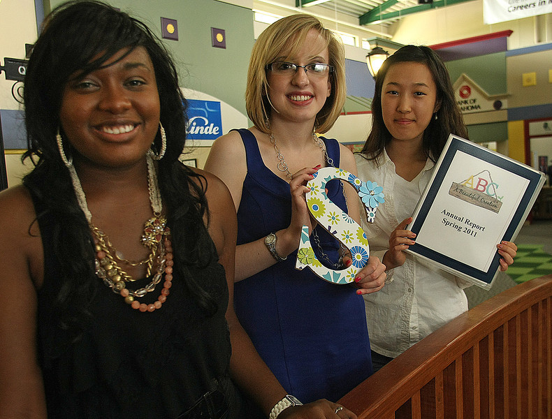 Junior Achievement of Oklahoma is sending  teen entrepreneurs Gaibrielle Goodson, Michelle Nellis and Hope Lee willf to Washington, D.C., to compete for the title of 2011 North American JA Company of the Year.