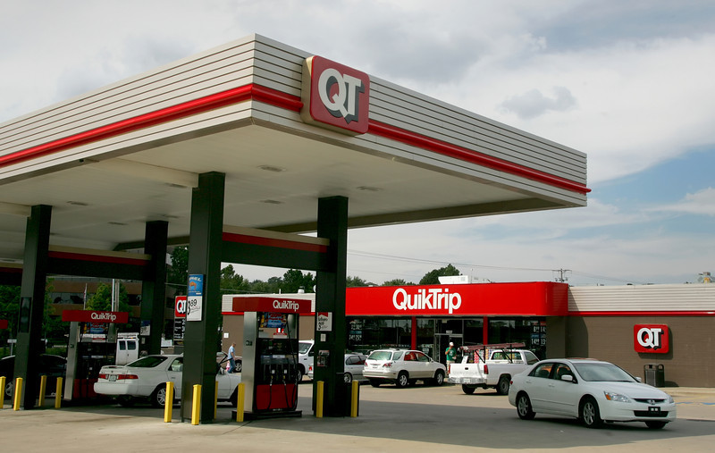Customers shop at a QuikTrip store in South Tulsa.Quik Trip could possibly being planning to build two stores near the Tulsa Hill Shopping Center.