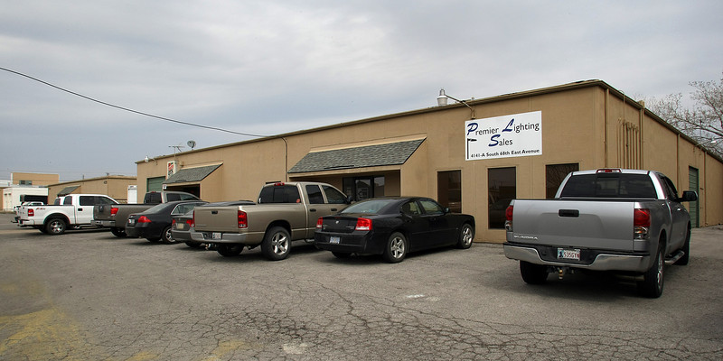 The Southland Trade Center, a 31,840 square foot multi-tenant office/warehouse property in Tulsa.