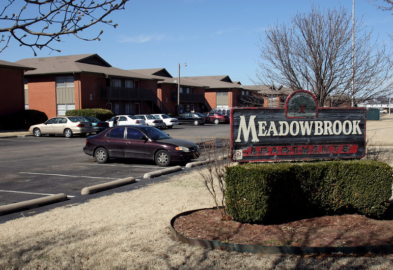 A Tulsa company owned by funeral director and entrepreneur Keith Stumpff paid $2.36M for the 42-year-old Meadowbrook Apartments in Tulsa.