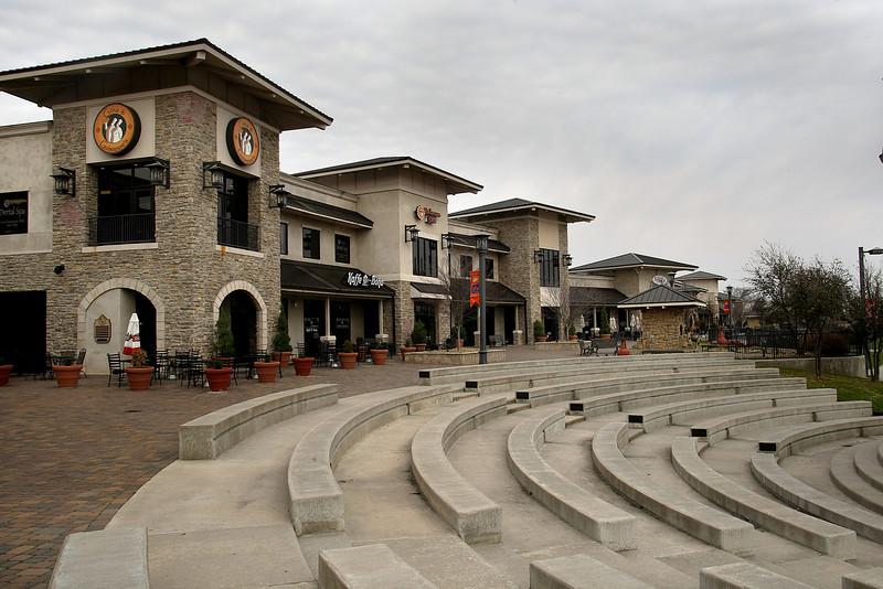 The Riverwalk center on the Arkansas River in Jenks.