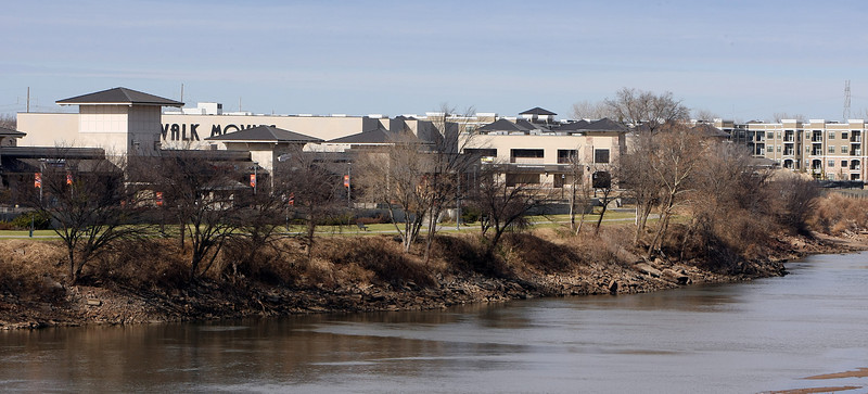 The RiverWalk development along the Arkansas River in Jenks.