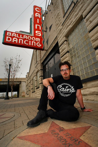 Tate Wittenberg is filming a documentary on Tulsa's Cain's ballroom.