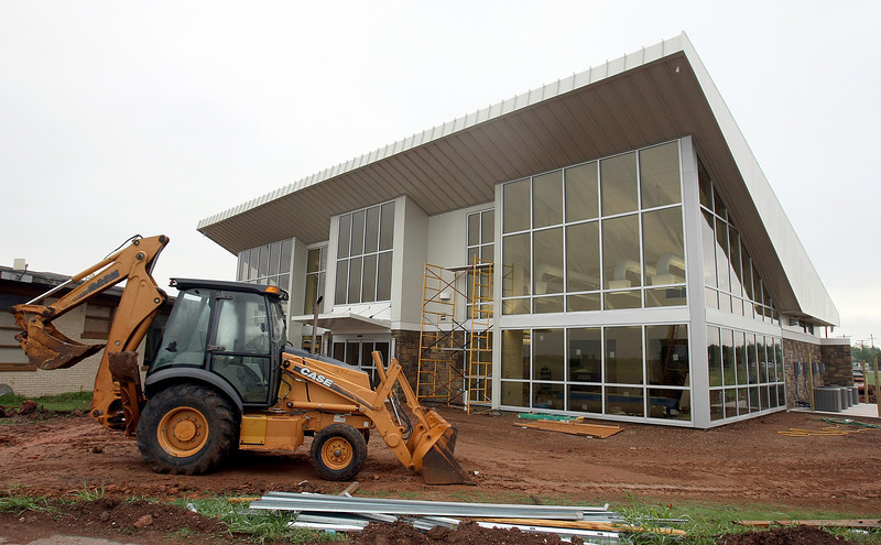 The Shawnee Airport has a new terminal building.  PHOTO BY MAIKE SABOLICH