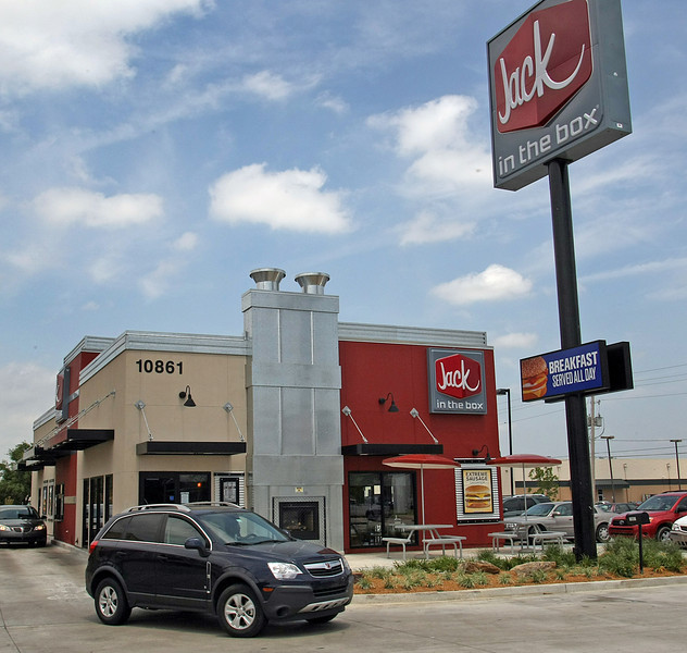 Jack in the box should open it's third location in Tulsa this summer.