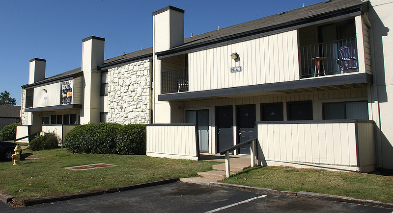 The Timberline Apartments at 7902 South Sheridan Road in Tulsa were recently purchased by Crestmarc for $$$$$$.