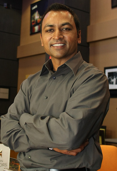 Andy Patel, President, Anish Hotels Group at his new Tulsa hotel, the Hampton inn Tulsa Central.