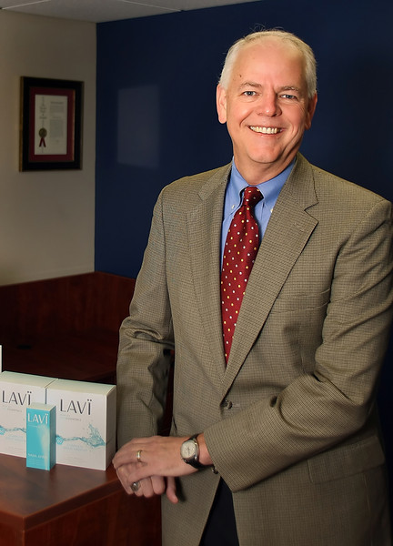TriCord President and Chief Executive Jay Betz in his Tulsa headquarters.