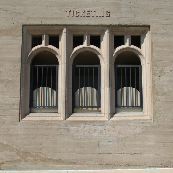 The Ticket booth on the East gate of Skelly Stadium at the University of Tulsa.