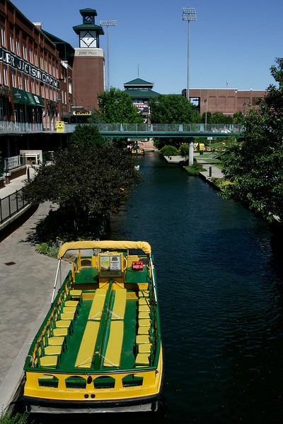 Canal in Bricktown. PHOTO BY MAIKE SABOLICH