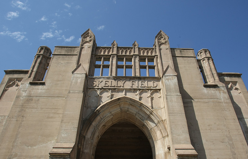 The East Gate of Skelly stadium at the University of Tulsa.