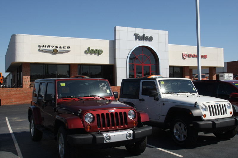 The Dodge Chrysler Jeep of Tulsa at 4627 S. Memorial Drive in Tulsa has been sold to the Bob Moore Auto Group of OKC for $4.3 M.