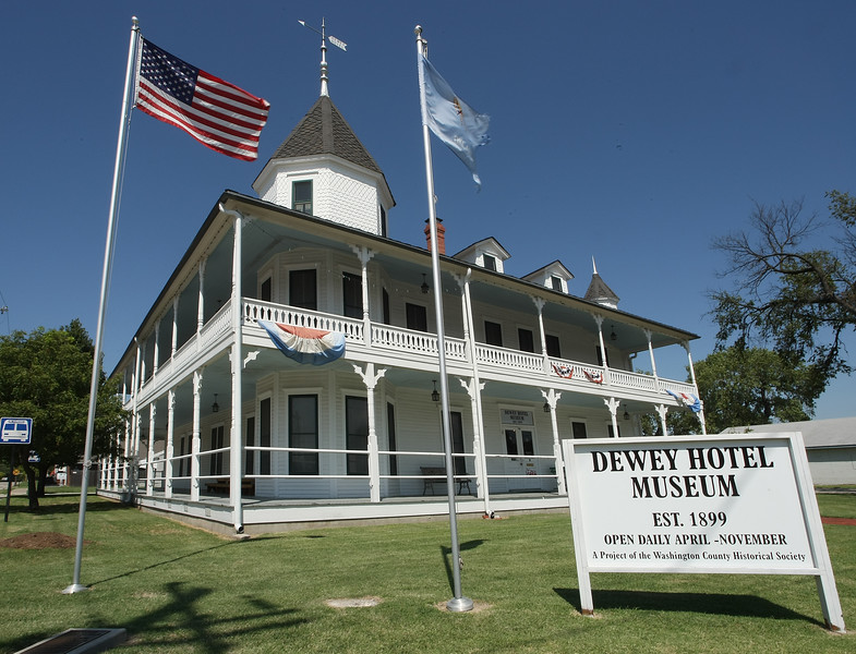 The Dewey Hotel and Museum.