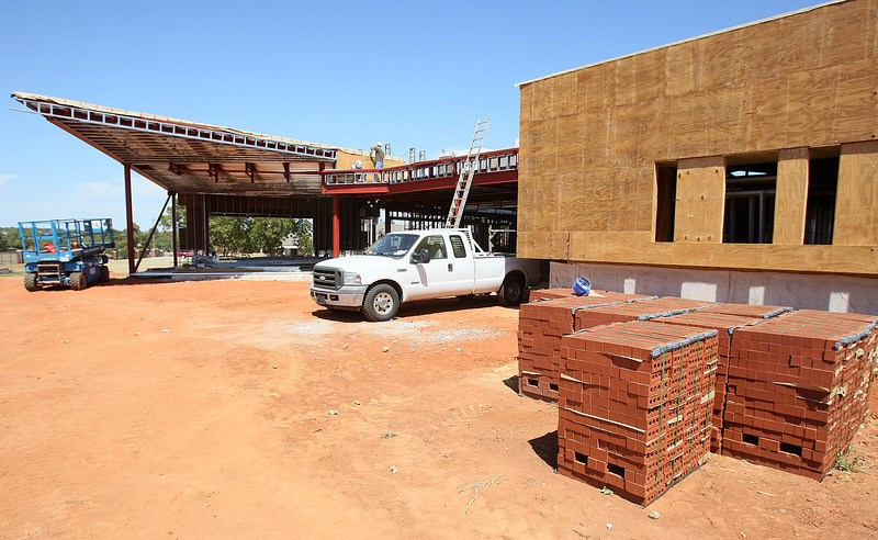 Construction site of the new Variety Care location on 3000 Grand Blvd. PHOTO BY MAIKE SABOLICH