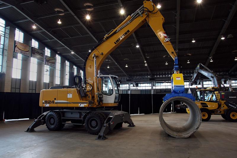Vacuworx equipment on display at the recent Tulsa Pipeline Expo.