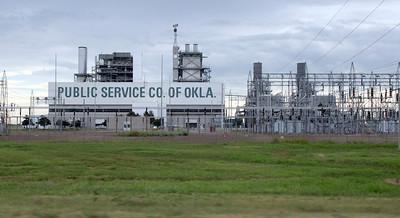 PSO' Oolagah power generation plant.