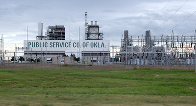 PSO' Oolagah power generation plant.