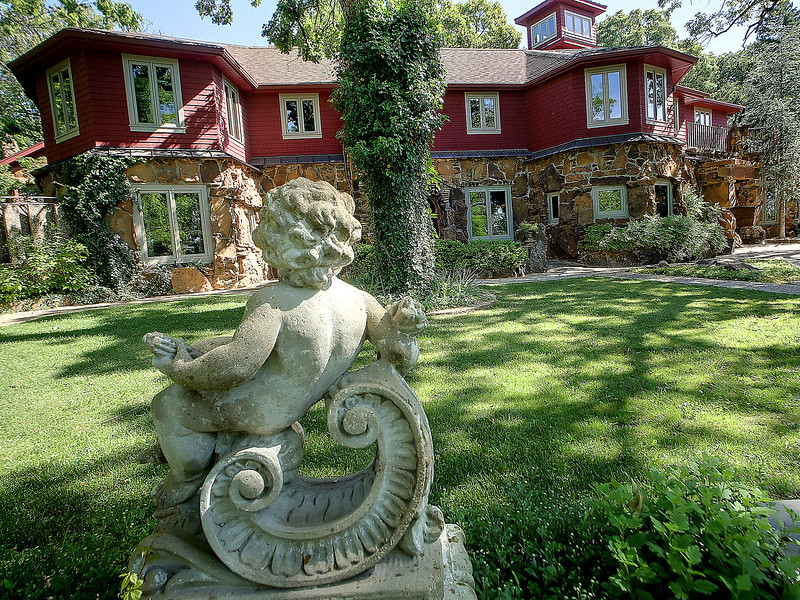 The Cedar Rack Bed and Breakfast in West Tulsa.