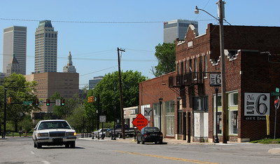 The Pearl District near downtown Tulsa.