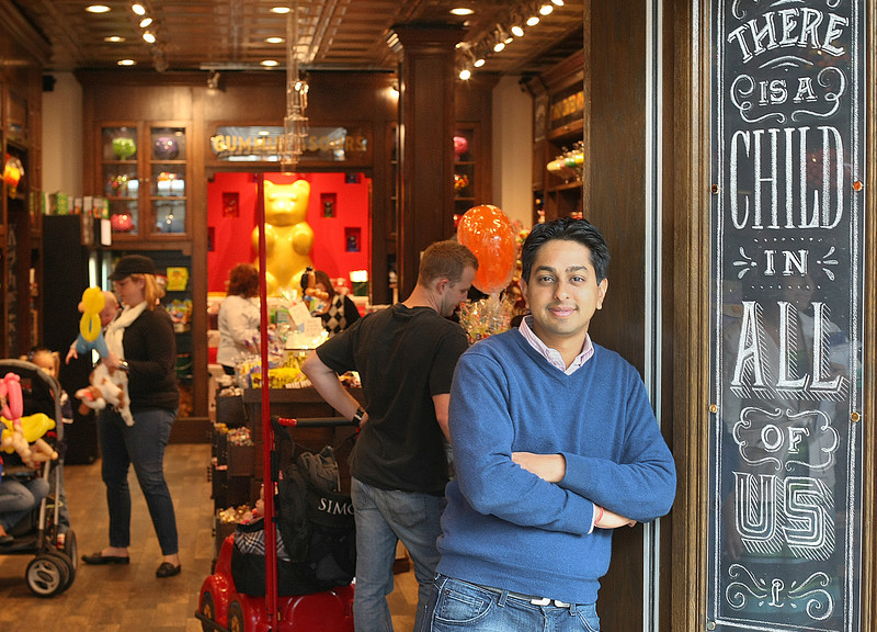 Sid Gupta, Owner of Lolli and Pops candy shop in the Woodland Hills Mall.