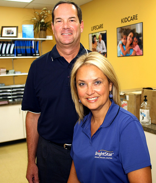 Jeff and Pam Stone, Co-Owners of BrightStare in Tulsa.
