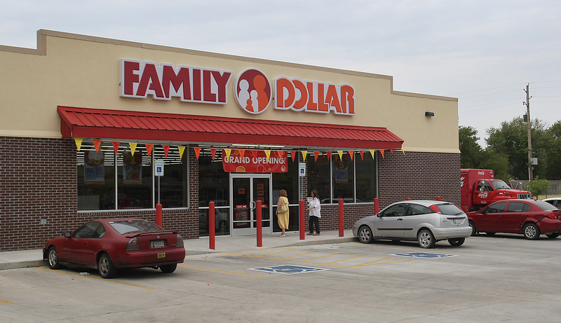 A Family Dollar store in South Tulsa recently was purchased for $1.26 million,