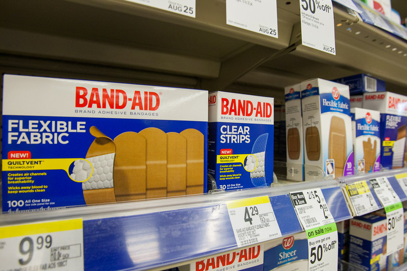 Band-Aid is being sued by the Oklahoma City for latex found in bandages that are advertised as non-latex.