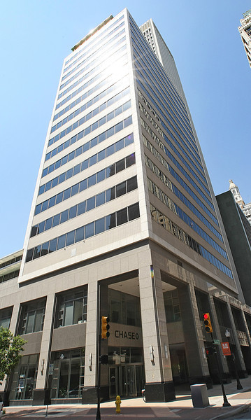 Chase Bank is retail branch to the Kennedy building and their administrative staff to the 110 W 7th Building in downtown Tulsa.