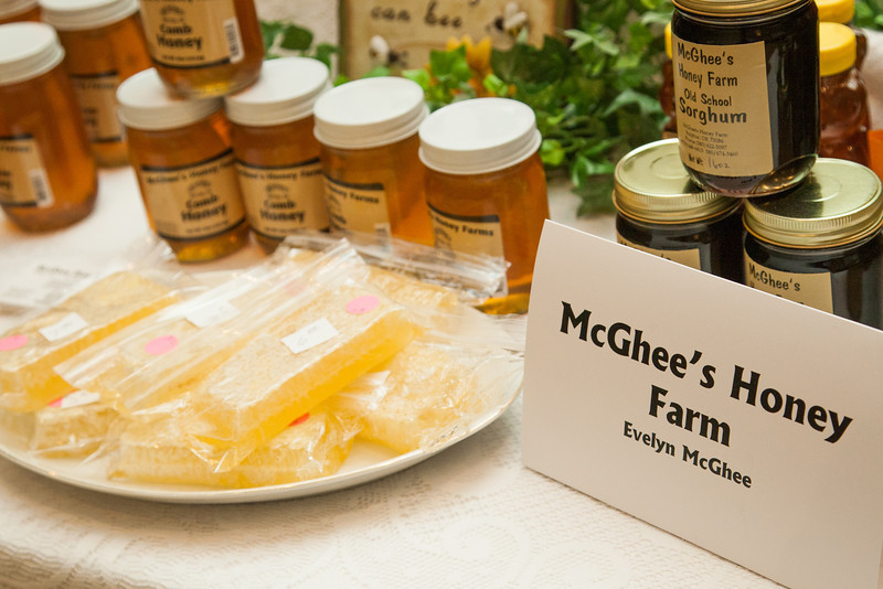 McGhee's Honey Farm was one of the ag based businesses at the Woman in Agriculture Conferance hosted at Moore-Norman Technology Center.