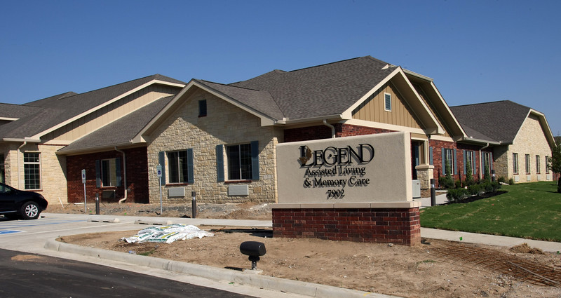 The Legends Assisted Living and Memory Care facility in Tulsa.