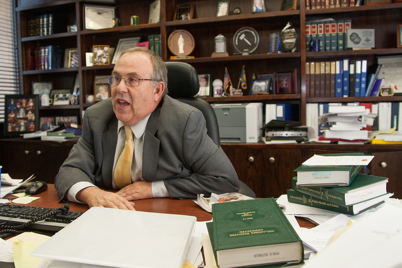Oklahoma City public defender Bob Ravitz.