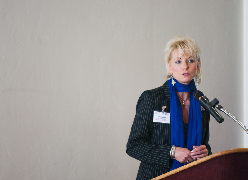 Coerperation Commisioner Dana Murphy spoke at the Midcontinent Oil & Gas Association's annual meeting.