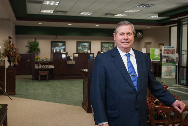 Thomas Legan, President and CEO of Coppermark Bank