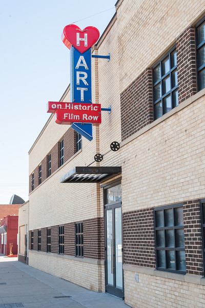 The Hart building on west Sheridian in Film Row.